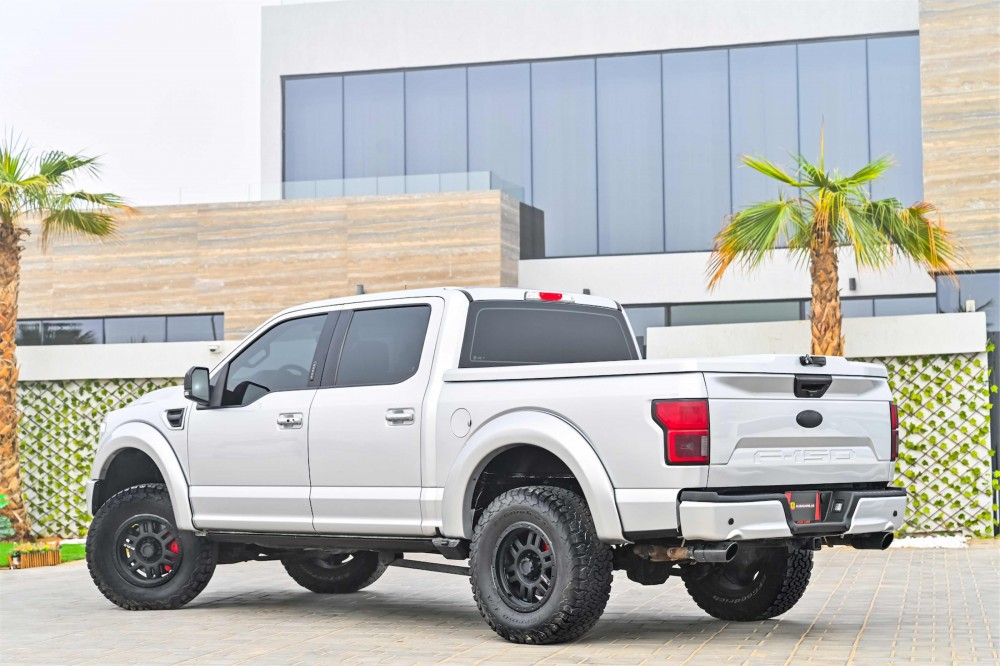 buy slightly used Ford F-150 Shelby 755 BHP with warranty