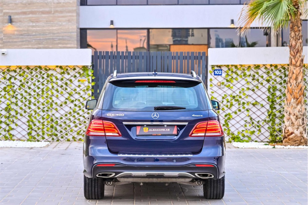 buy slightly used Mercedes GLE400 4Matic without downpayment