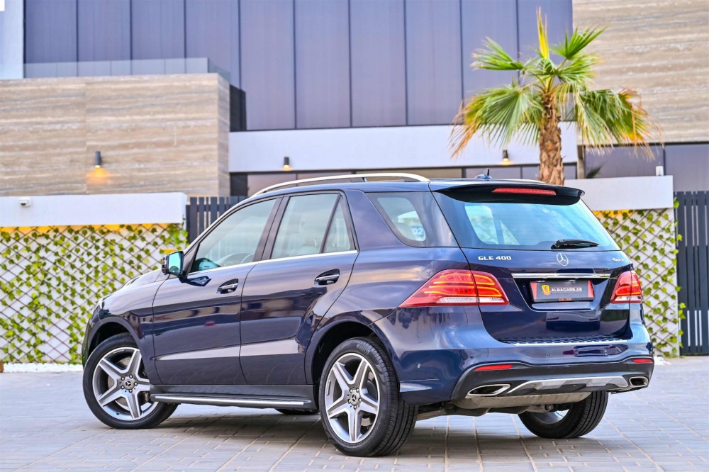buy used Mercedes GLE400 4Matic with warranty