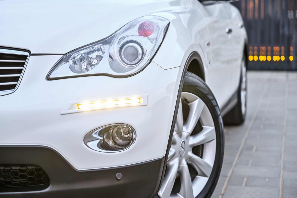 buy second hand Infiniti QX50 with warranty