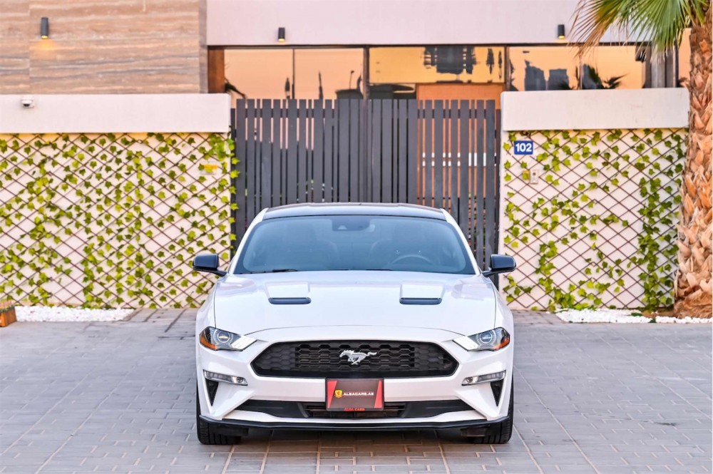 buy second hand Ford Mustang Ecoboost 2.3L in UAE