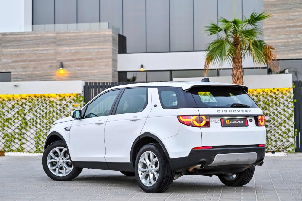 buy pre-owned Land Rover Discovery Sport HSE Si4 in Dubai