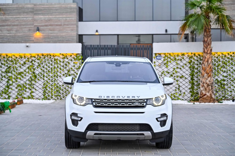 buy approved Land Rover Discovery Sport HSE Si4 in UAE
