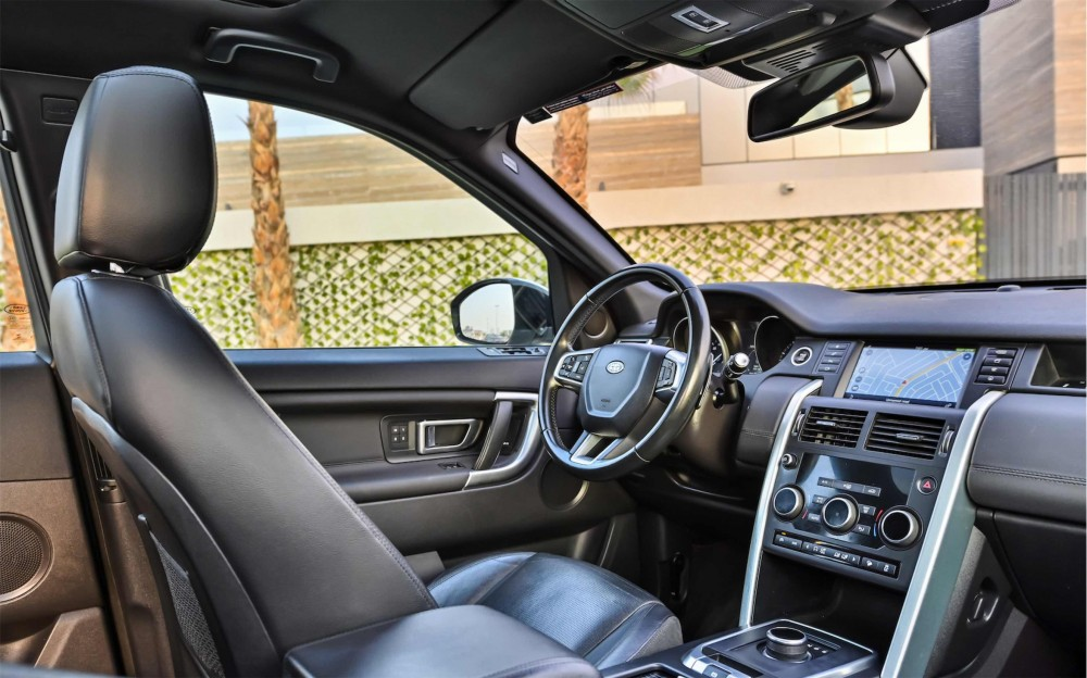 buy slightly used Land Rover Discovery Sport HSE Si4 in Dubai
