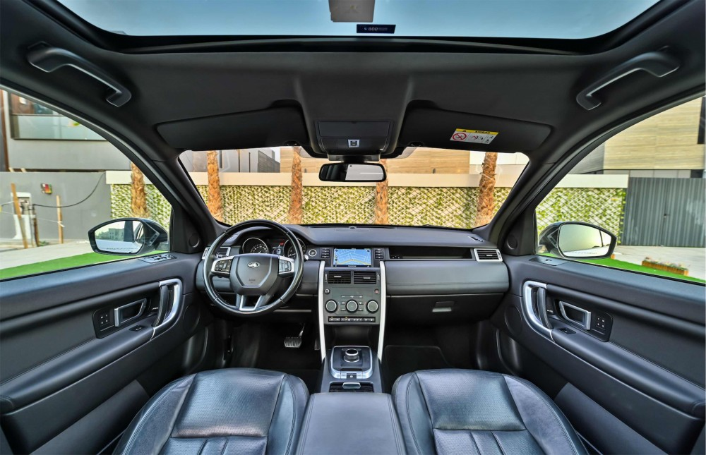 buy second hand Land Rover Discovery Sport HSE Si4 in Dubai