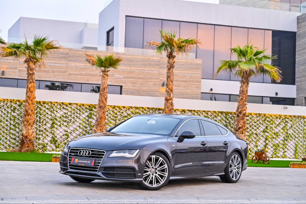 buy pre-owned Audi A7 S-Line in Dubai