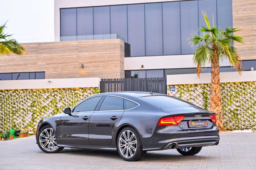 buy slightly used Audi A7 S-Line in UAE