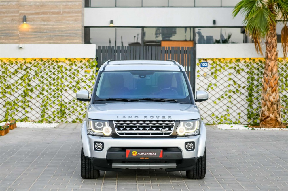 buy certified Land Rover LR4 HSE V6 in Dubai