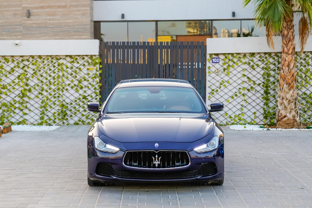buy pre-owned Maserati Ghibli SQ4 without downpayment