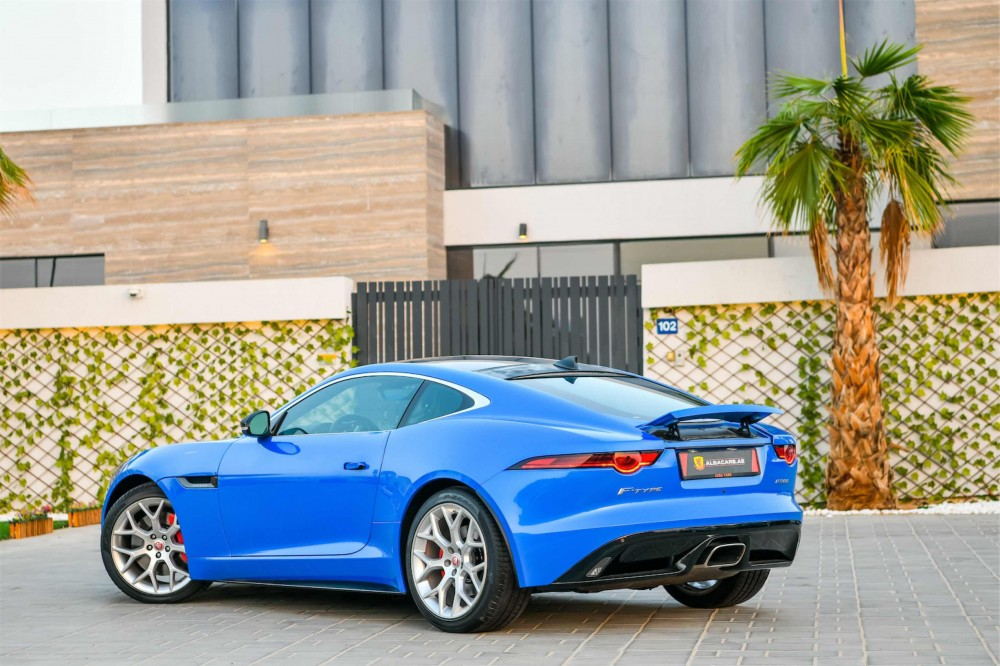 buy second hand Jaguar F-Type P300 R-Dynamic with warranty