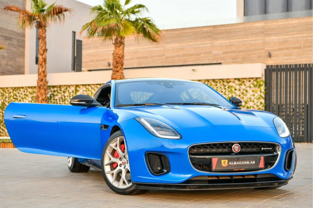 buy used Jaguar F-Type P300 R-Dynamic without downpayment
