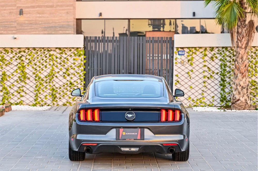 buy slightly used Ford Mustang without downpayment