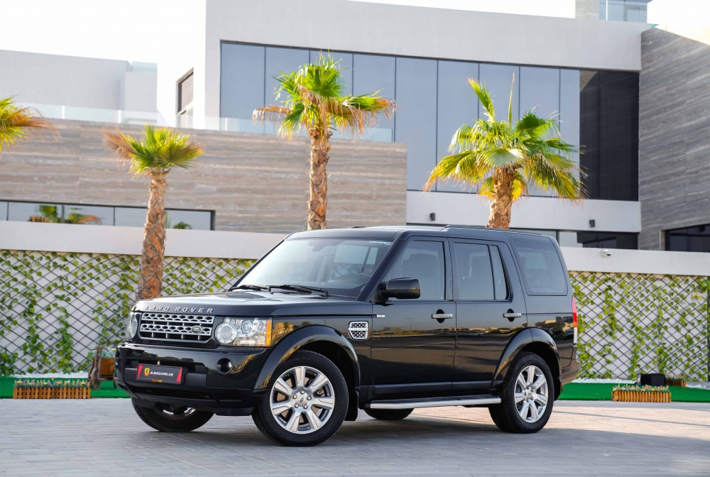 buy used Land Rover LR4 V8 HSE with warranty