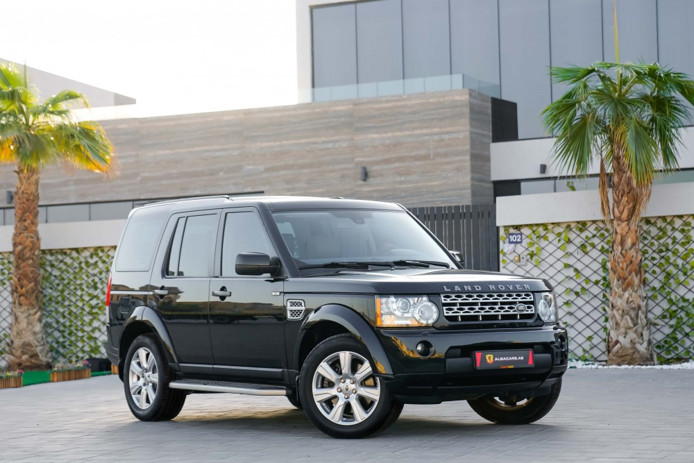 buy used Land Rover LR4 V8 HSE without downpayment