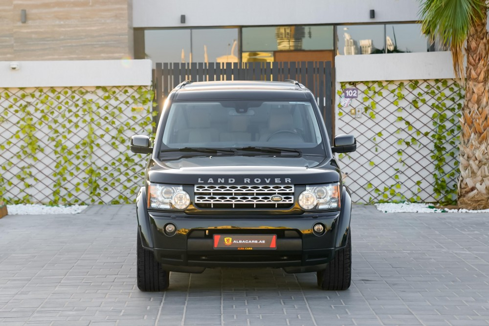 buy certified Land Rover LR4 V8 HSE with warranty