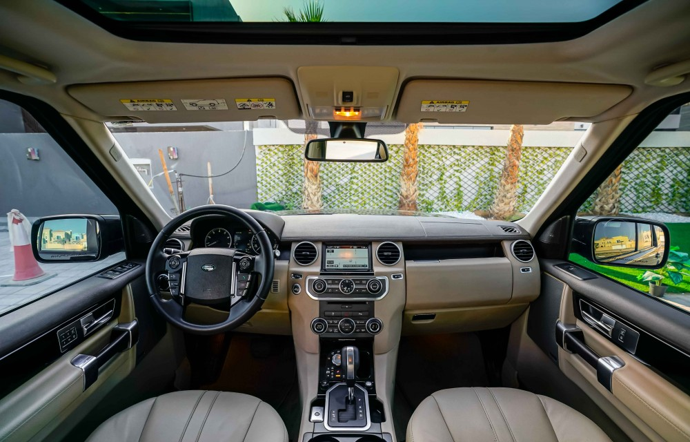 buy second hand Land Rover LR4 V8 HSE in UAE