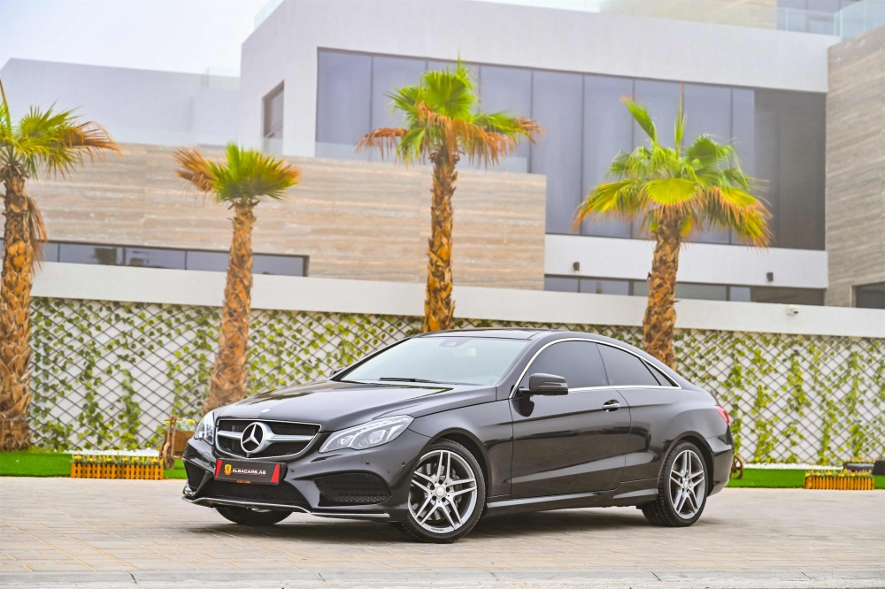 buy pre-owned Mercedes E400 AMG Coupe with warranty