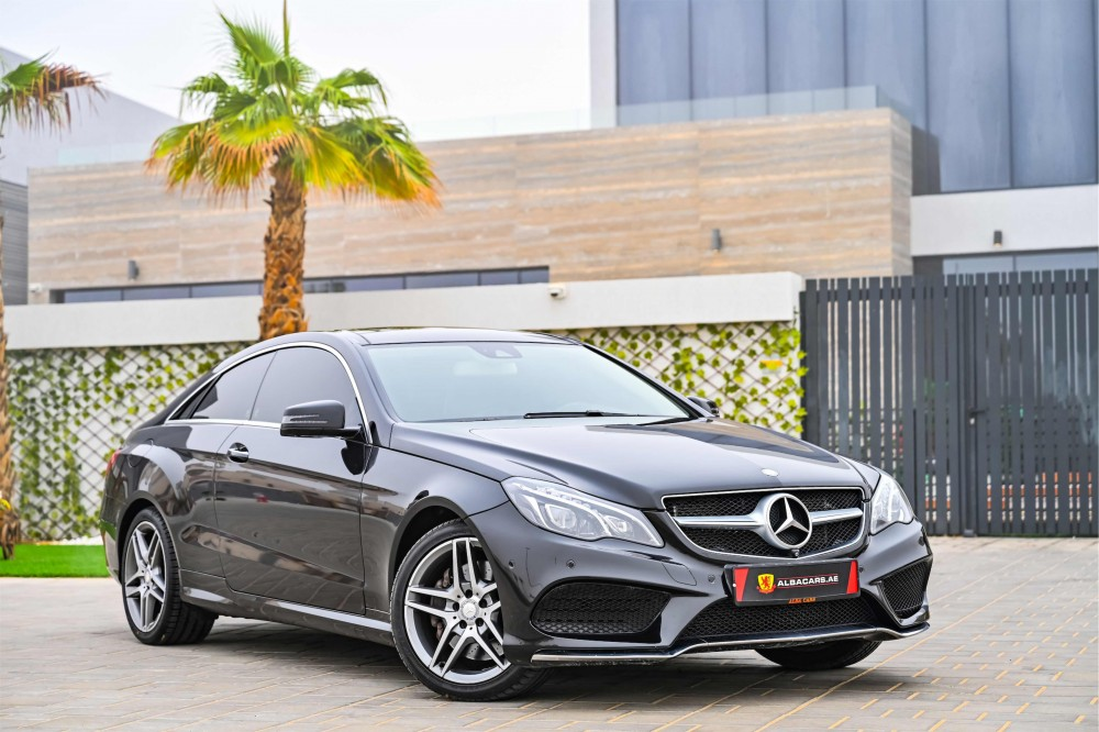 buy used Mercedes E400 AMG Coupe without downpayment