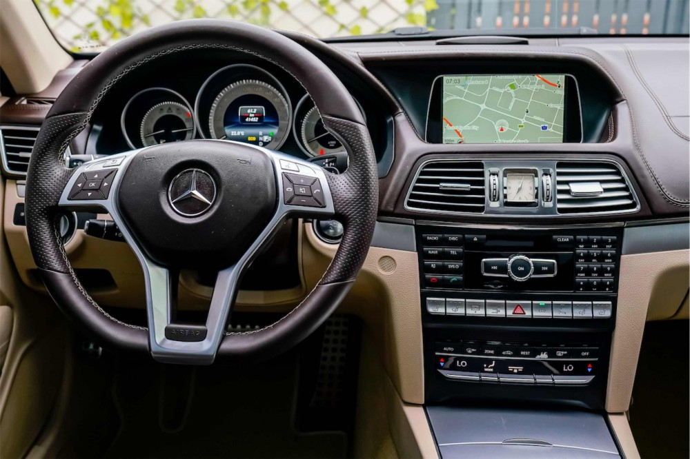 buy pre-owned Mercedes E400 AMG Coupe without downpayment