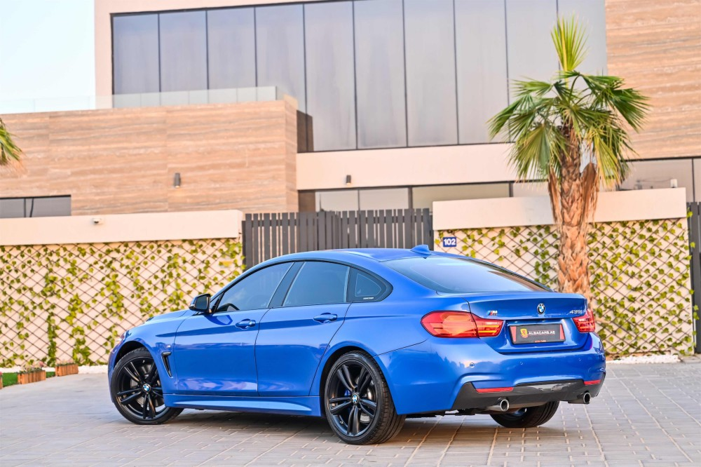 buy used BMW 435i M-Sport GranCoupe in UAE