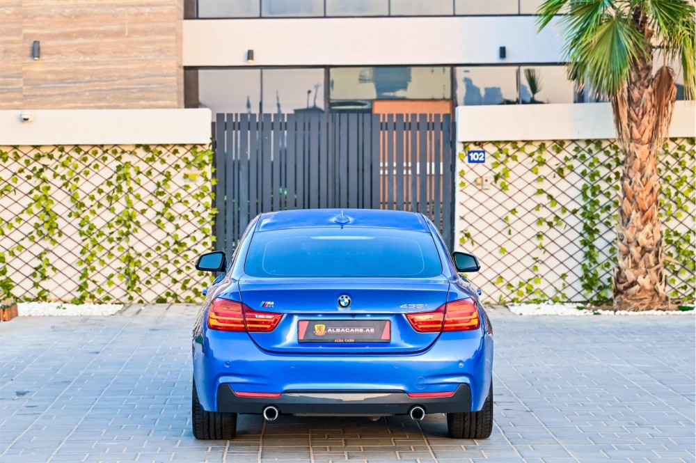 buy certified BMW 435i M-Sport GranCoupe without downpayment