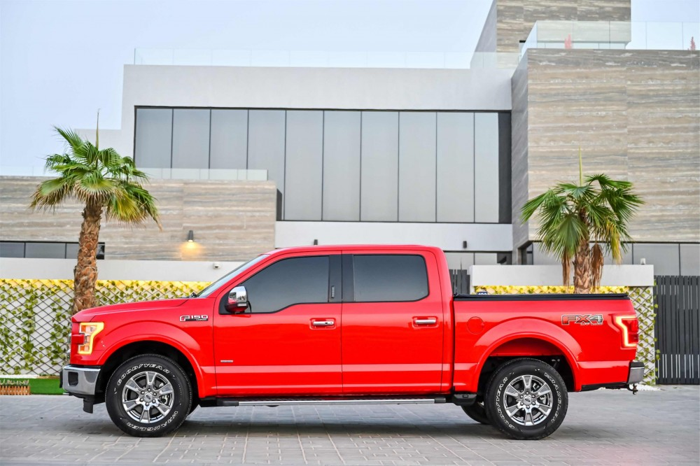 buy certified Ford F-150 Lariat Ecoboost Double Cabin with warranty