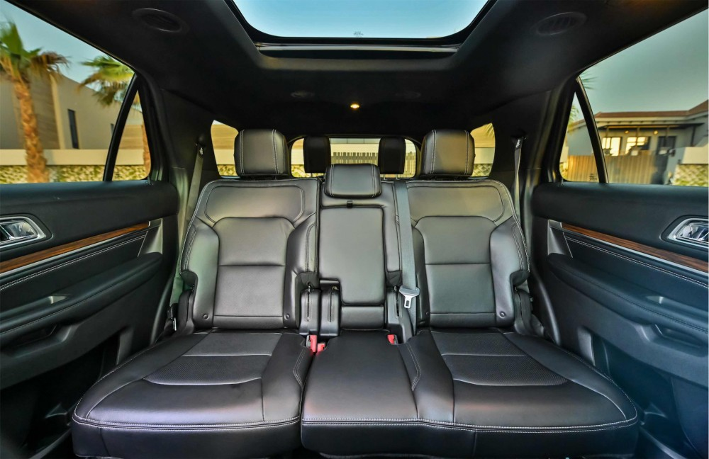 buy certified Ford Explorer Limited with warranty
