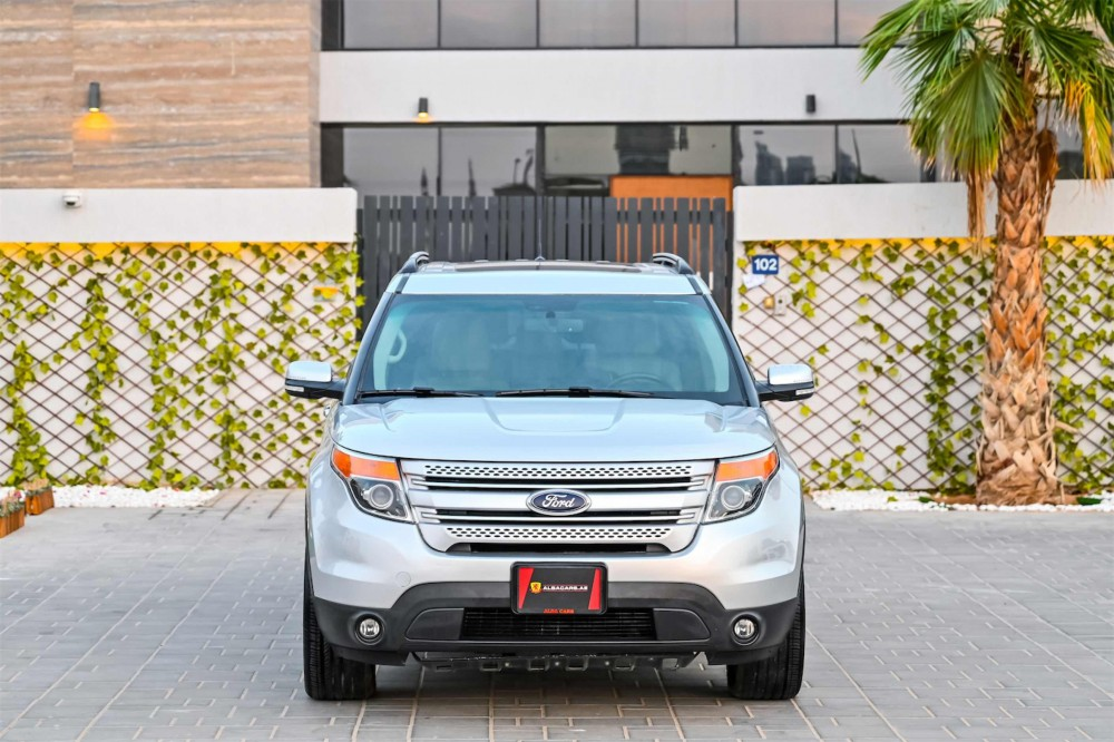 buy pre-owned Ford Explorer Limited V6 with warranty
