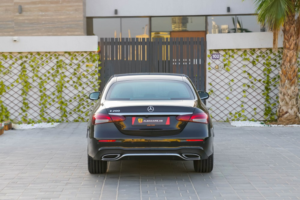 buy approved BRAND NEW Mercedes E200 AMG in UAE