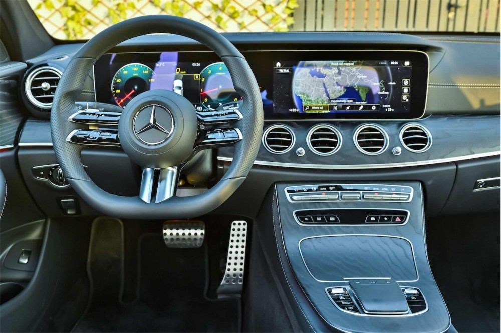 buy second hand BRAND NEW Mercedes E200 AMG in UAE