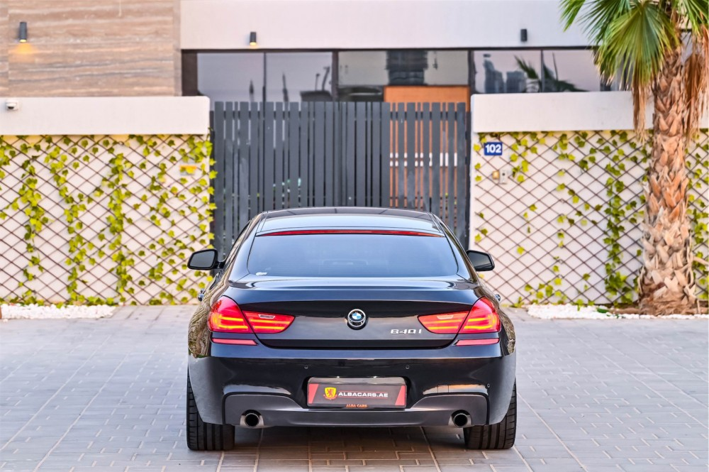 buy second hand BMW 640i M-Sport in UAE