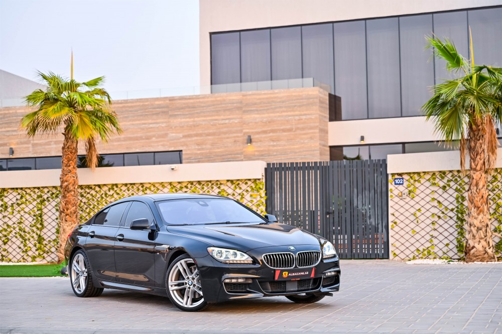 buy used BMW 640i M-Sport in Dubai