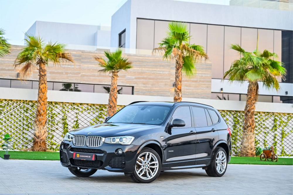 buy slightly used BMW X3 M-Sport xDrive28i in Dubai