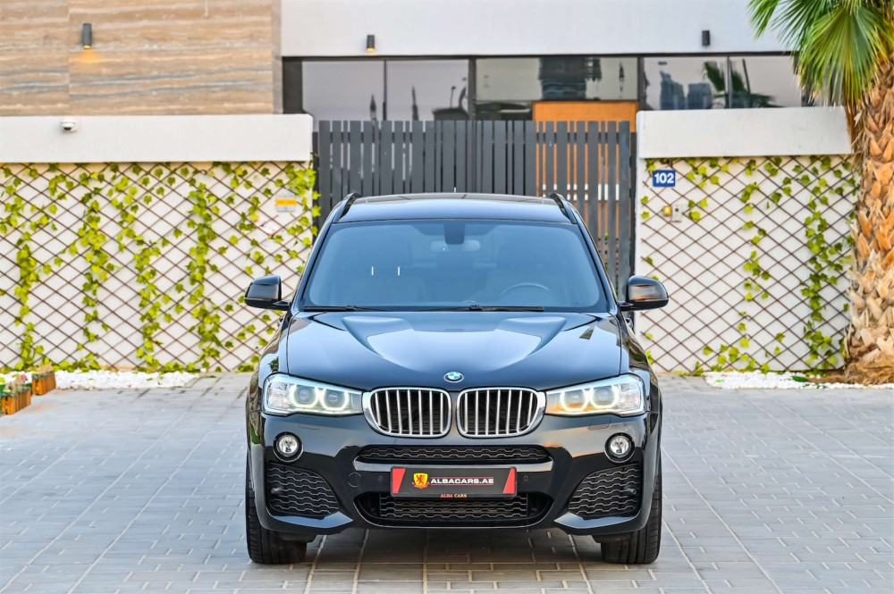 buy slightly used BMW X3 M-Sport xDrive28i with warranty