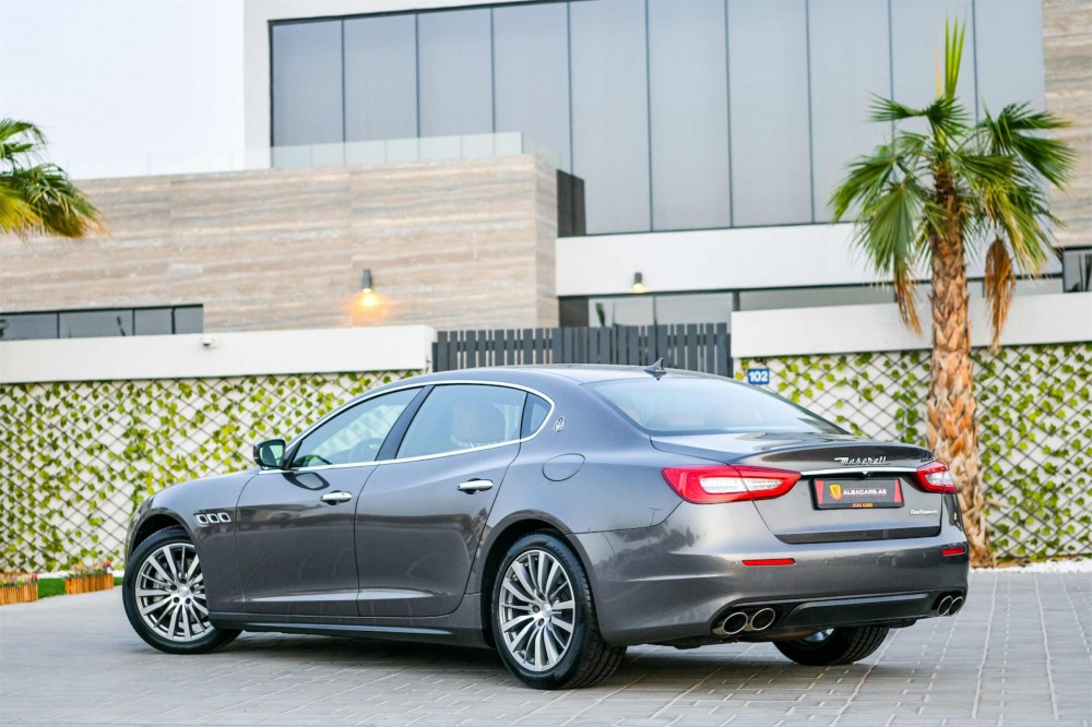 buy slightly used Maserati Quattroporte without downpayment