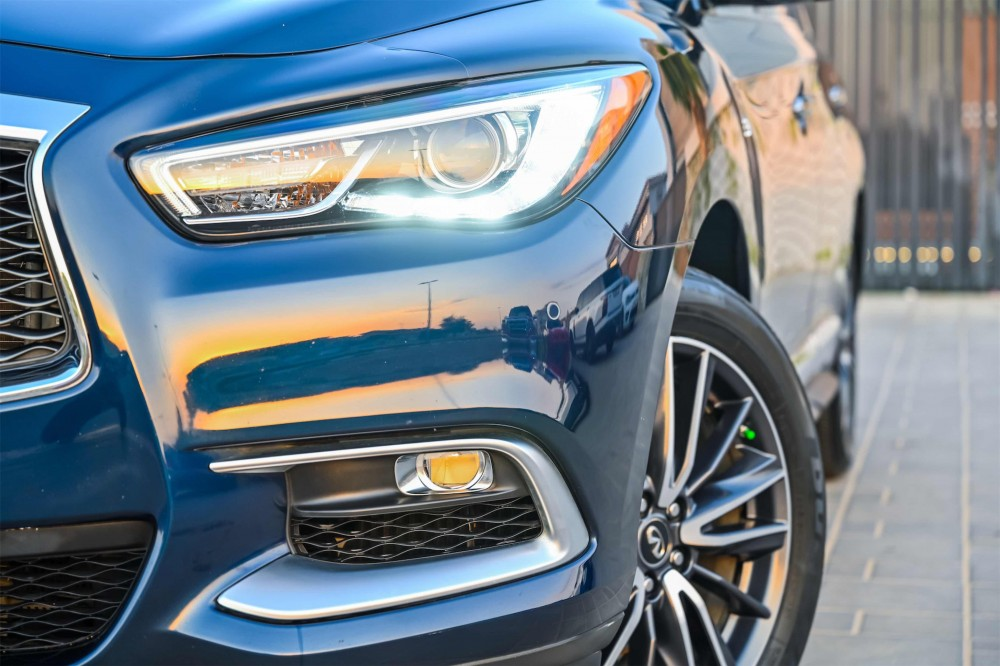 buy pre-owned Infiniti QX60 with warranty