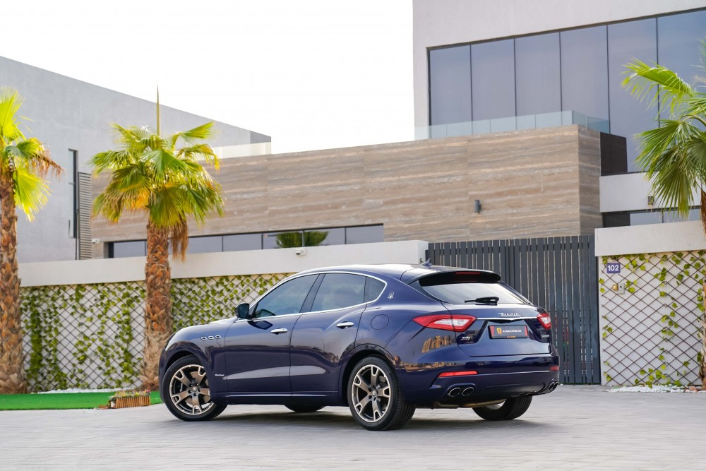 buy second hand Maserati Levante GranLusso SQ4 without downpayment