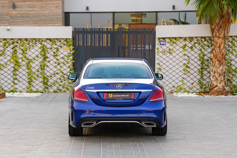 buy certified Mercedes-Benz C200 without downpayment