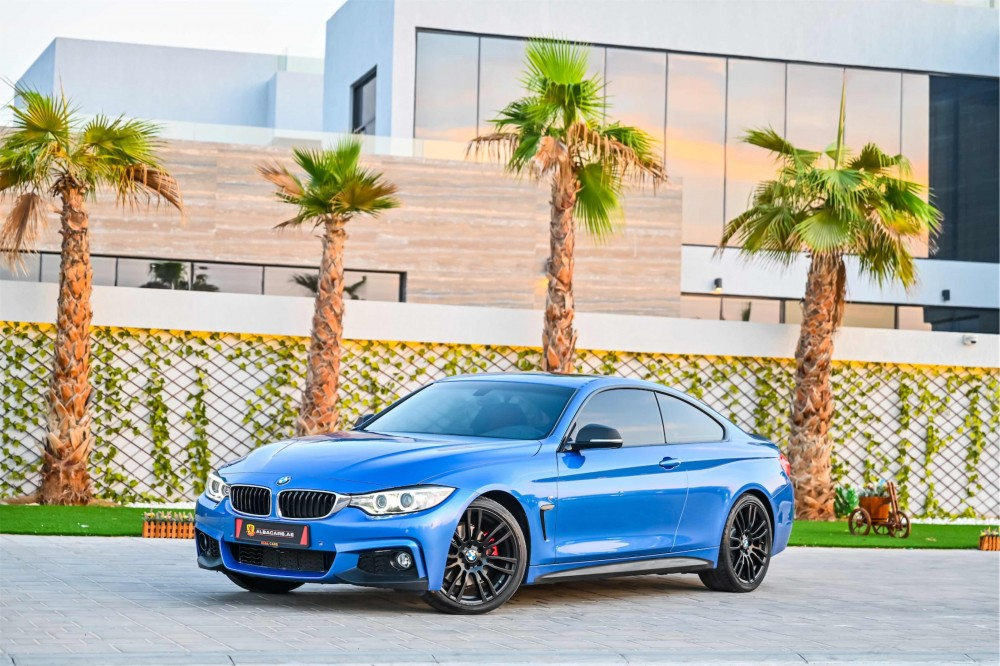 buy used BMW 430i M-Sport Coupe in UAE