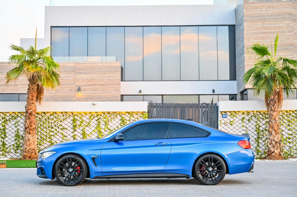 buy slightly used BMW 430i M-Sport Coupe in UAE