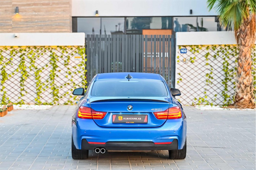 buy second hand BMW 430i M-Sport Coupe in UAE