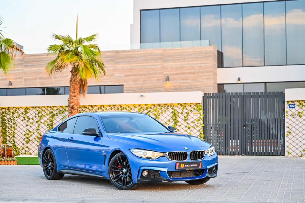 buy approved BMW 430i M-Sport Coupe in Dubai