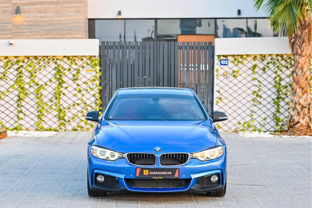 buy certified BMW 430i M-Sport Coupe in Dubai