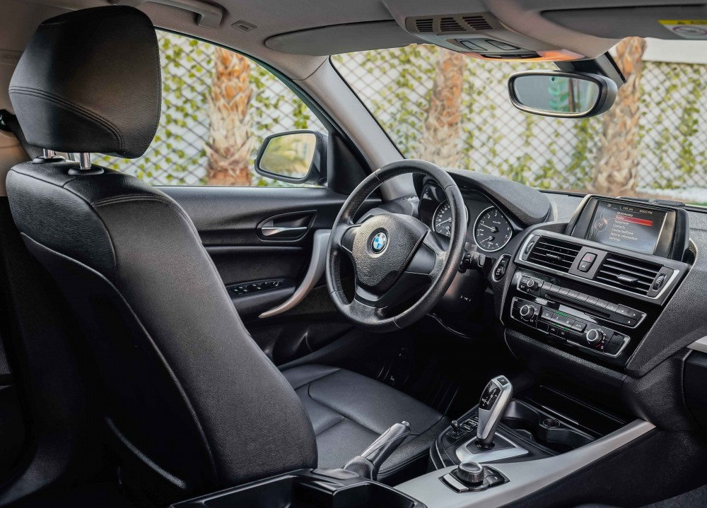 buy slightly used BMW 120i without downpayment