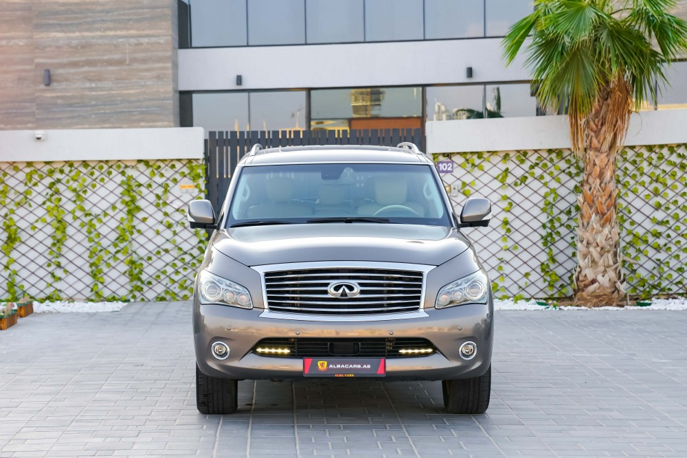 buy pre-owned Infiniti QX80 Luxury with warranty