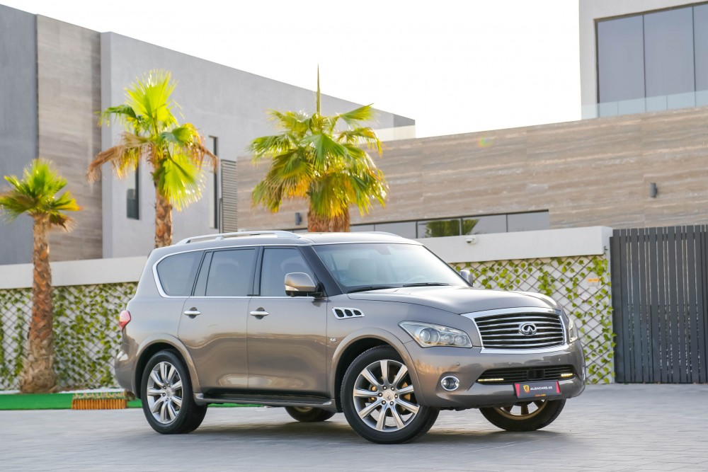 buy slightly used Infiniti QX80 Luxury without downpayment