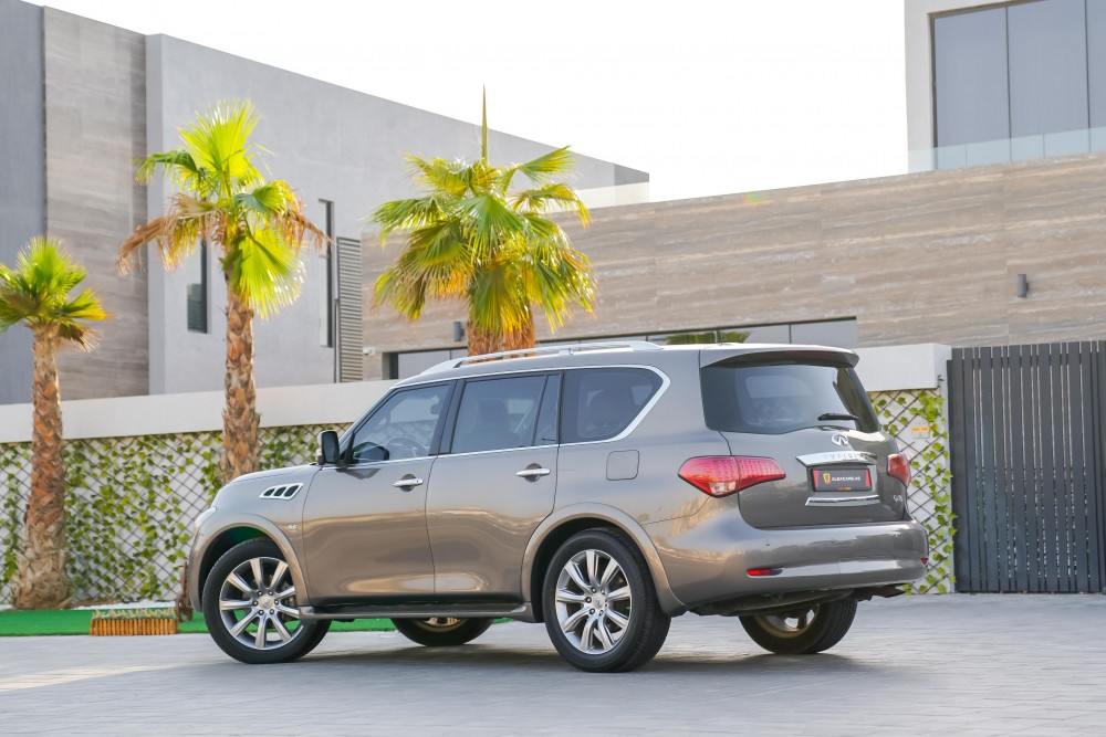 buy certified Infiniti QX80 Luxury without downpayment