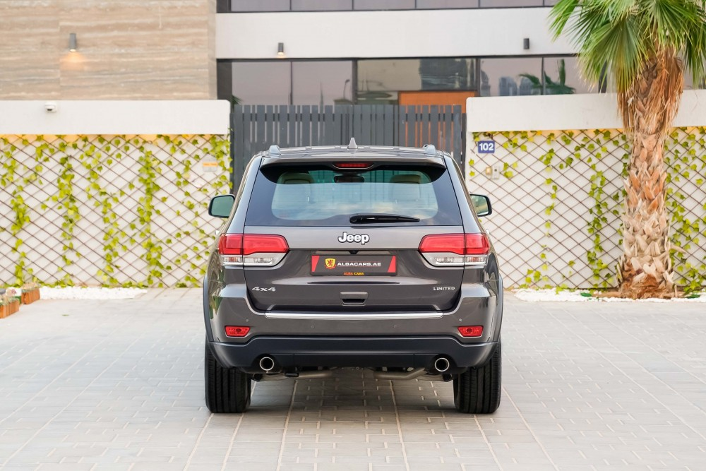 buy used Jeep Grand Cherokee Limited with warranty