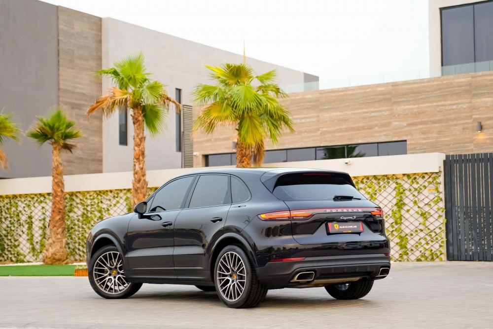 buy pre-owned Porsche Cayenne without downpayment