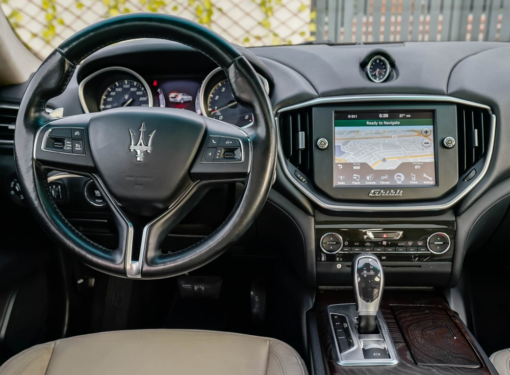 buy approved Maserati Ghibli S with warranty